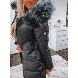 Tmavě modrý kabátek s logem