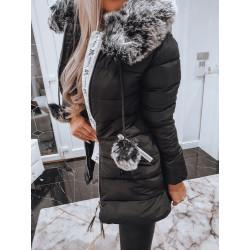 Černý kabátek Lela