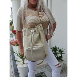 Krémovozlatá kabelka
