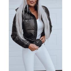 Černá zimní bundička Fashion