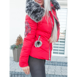 Červená bundička Sibir