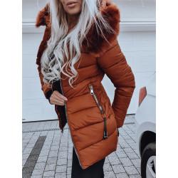 Hnědý kabátek Lena
