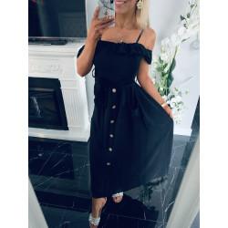 Černé šaty Madelle