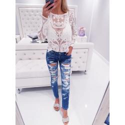 Trhané šisované džíny