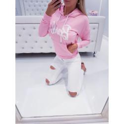 Růžová mikina Barbie