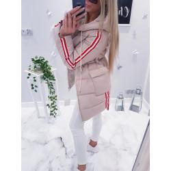 Béžový kabátek Strips