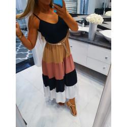 Dlouhé šaty mulricolor