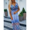 Modré šaty Samantha