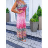 Růžové šaty Samantha